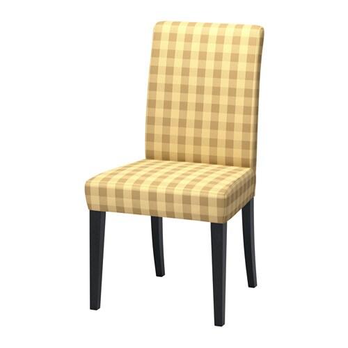 henriksdal chaise skaftarp jaune ikea. Black Bedroom Furniture Sets. Home Design Ideas