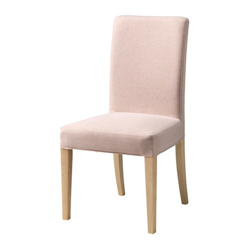 Henriksdal chaise gunnared rose p le ikea for Ikea chaise henriksdal