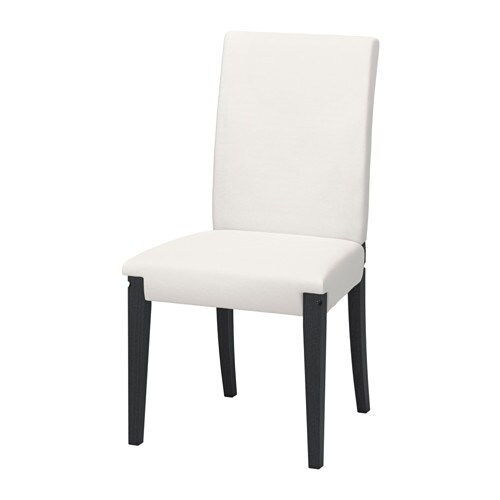Henriksdal structure chaise brun fonc ikea for Chaise ikea henriksdal