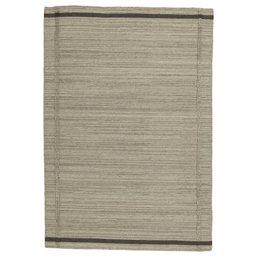 """HÖJET tapis tissé plat fait main/beige 6 ' 5 """" 4 ' 4 """" ¼ """" 27.88 pied carré 6.55 oz/sq ft"""