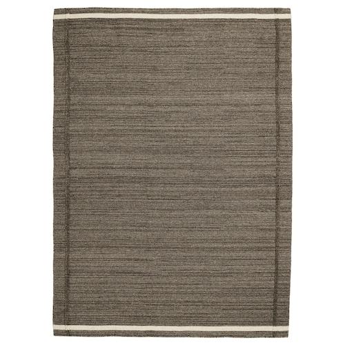 "HÖJET tapis tissé plat fait main brun 7 ' 10 "" 5 ' 7 "" ¼ "" 43.92 pied carré 6.55 oz/sq ft"