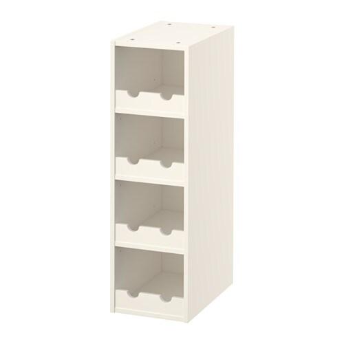 HÖRDA Rangement ouvert - blanc - IKEA
