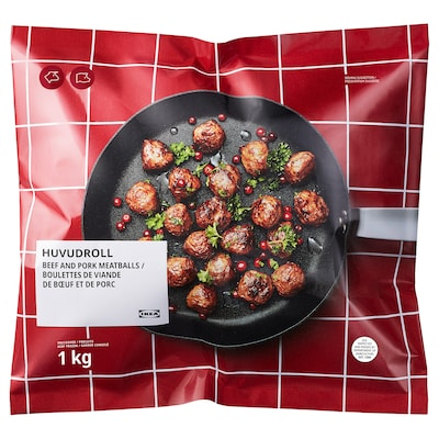 HUVUDROLL Boulettes de viande, surgelé, 2 lb 3 oz