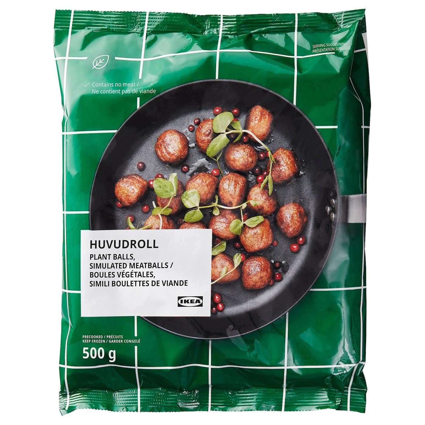 HUVUDROLL Boulettes végétaliennes, surgelé, 1 lb 2 oz