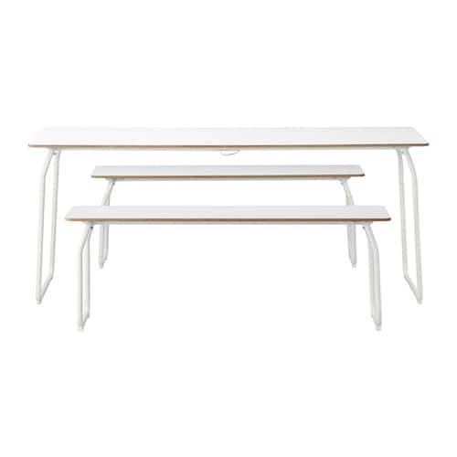 Ikea ps 2014 table 2bancs int rieur ext rieur ikea for Banc exterieur ikea