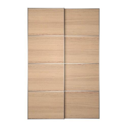Ilseng portes coulissantes 2 pi ces 150x236 cm amortisseur pour porte cou - Amortisseur porte ikea ...
