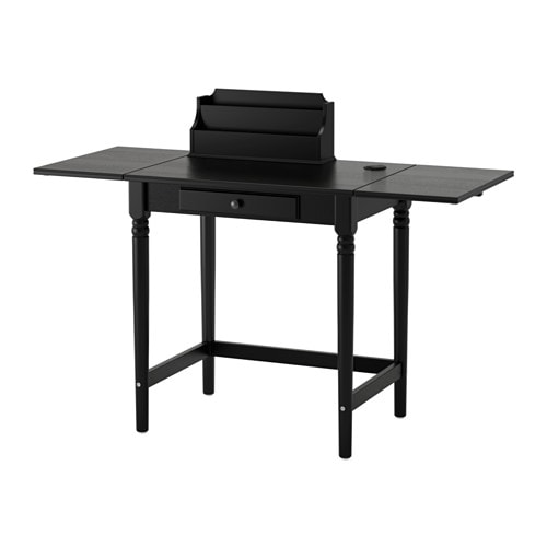 ingatorp table noir ikea. Black Bedroom Furniture Sets. Home Design Ideas