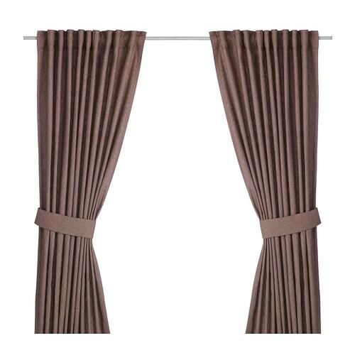ingert rideaux embrasses 2 panneaux ikea. Black Bedroom Furniture Sets. Home Design Ideas