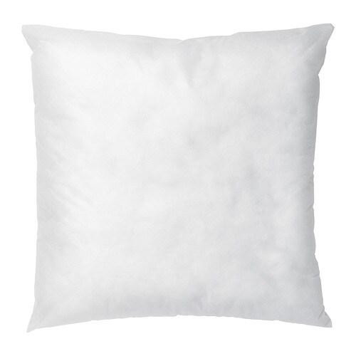 INNER Coussin à recouvrir, blanc blanc 50x50 cm