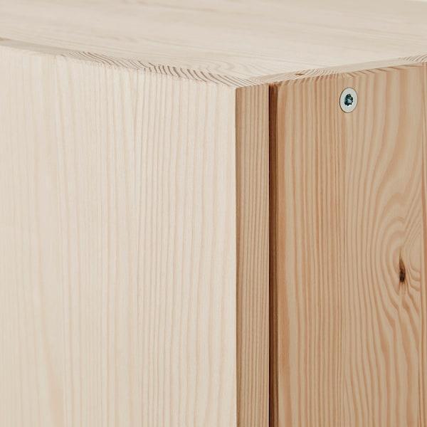 """IVAR Rangement à portes, pin, 32x12x33 """""""