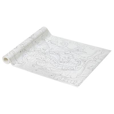 """JÄTTELIK Rouleau papier à colorier, 394 """""""