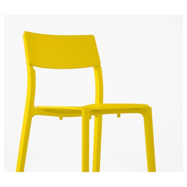 JANINGE Chaise, jaune