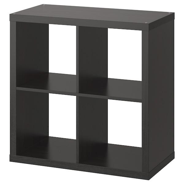 "KALLAX Étagère, brun-noir, 30 3/8x30 3/8 """