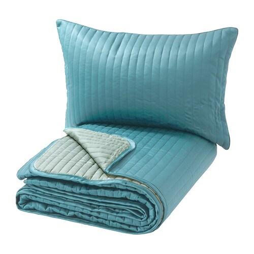 karit couvre lit et housse de coussin une place deux places ikea. Black Bedroom Furniture Sets. Home Design Ideas