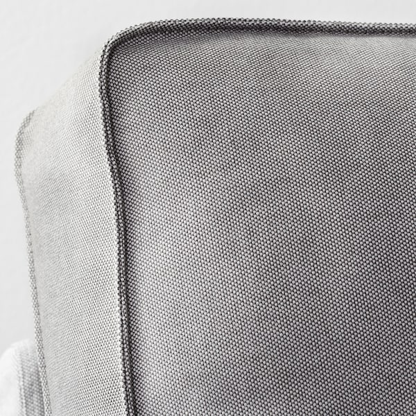 KIVIK Canapé, avec méridienne/Orrsta gris clair