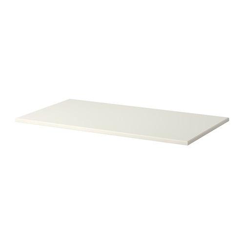 Klimpen plateau de table blanc ikea - Plateau de table ikea ...
