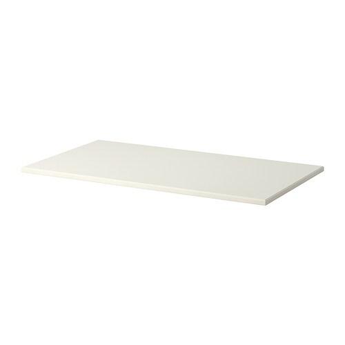 klimpen plateau de table blanc ikea. Black Bedroom Furniture Sets. Home Design Ideas