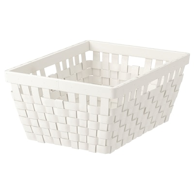 "KNARRA Panier, blanc, 15x11 ½x6 ¼ """