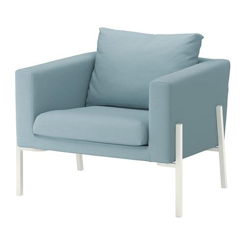 koarp fauteuil orrsta bleu clair blanc ikea. Black Bedroom Furniture Sets. Home Design Ideas