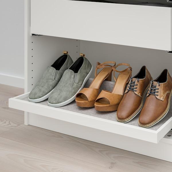 """KOMPLEMENT Accessoire chaussures plat couliss, gris clair, 29 1/2x13 3/4 """""""