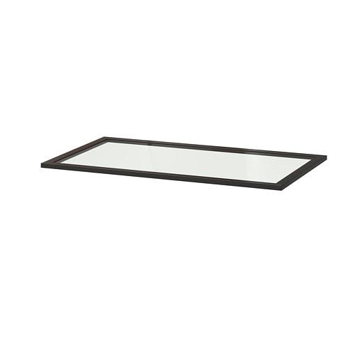 komplement tablette en verre 100x58 cm ikea