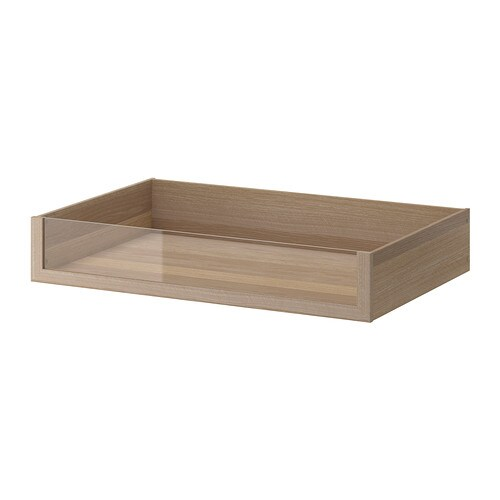 komplement tiroir avec fa ade en verre 100x58 cm ikea. Black Bedroom Furniture Sets. Home Design Ideas
