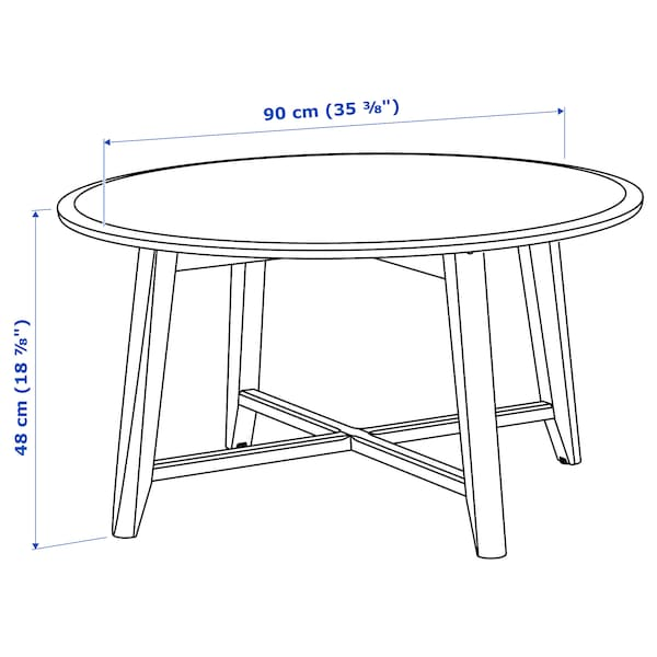 IKEA KRAGSTA Table basse