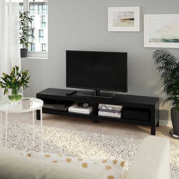 """LACK Meuble télé, brun-noir, 63x13 3/4x14 1/8 """""""