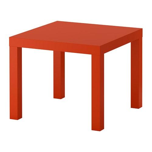 Lack table d 39 appoint orange ikea - Tables d appoint ikea ...