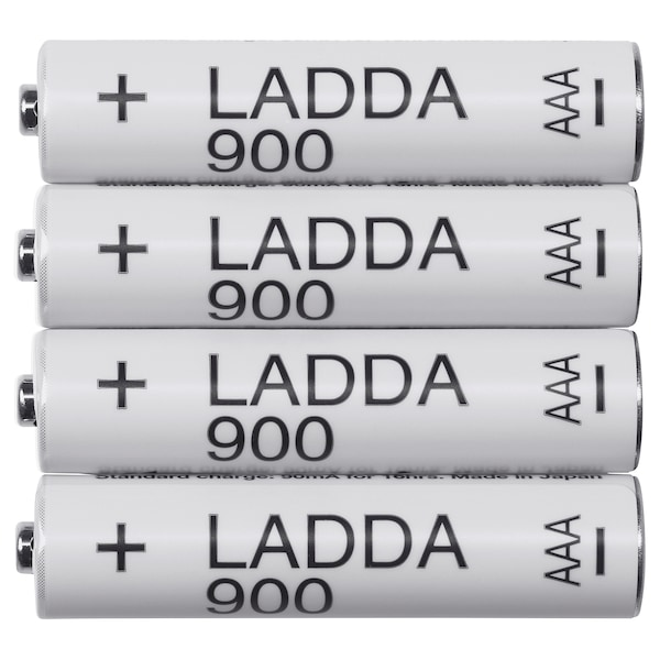 LADDA Pile rechargeable, HR03 AAA 1,2V