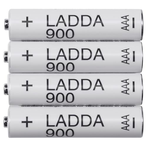LADDA pile rechargeable 4 pièces
