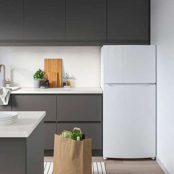 LAGAN Réfrigérateur av congél supérieur, blanc, 13.9 cu.ft