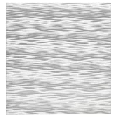 "LAXVIKEN Porte, blanc, 23 5/8x25 1/4 """