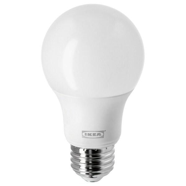 LEDARE Ampoule à DEL E26 800 lumens, lumière chaude/sphérique opalin