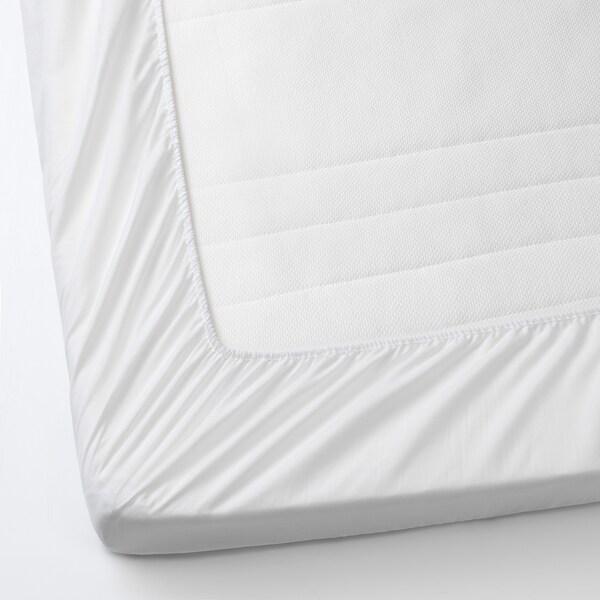 Lenast Protege Matelas Blanc 70x132cm Ikea Canada Ikea