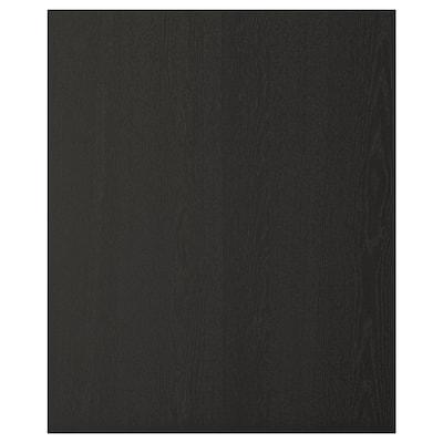 """LERHYTTAN Panneau latéral de finition, teinté noir, 25x30 """""""