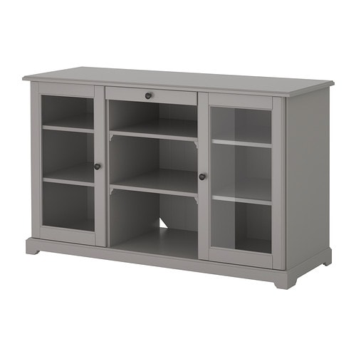 liatorp buffet gris ikea. Black Bedroom Furniture Sets. Home Design Ideas