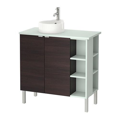 Lill ngen viskan gutviken meuble lavabo 2 portes 2 l for Meuble 4 portes ikea