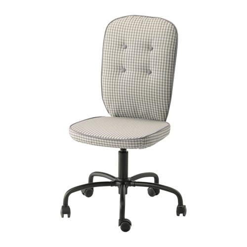 lillh jden chaise pivotante s gmyra motif gris ikea. Black Bedroom Furniture Sets. Home Design Ideas