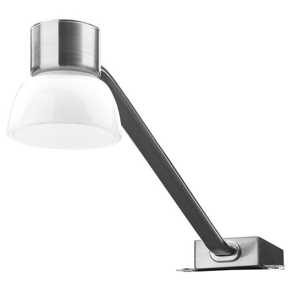 LINDSHULT Éclairage armoire à DEL, nickelé