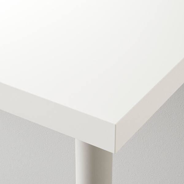 LINNMON / ALEX Table, blanc/bleu, 59x29 1/2 ""