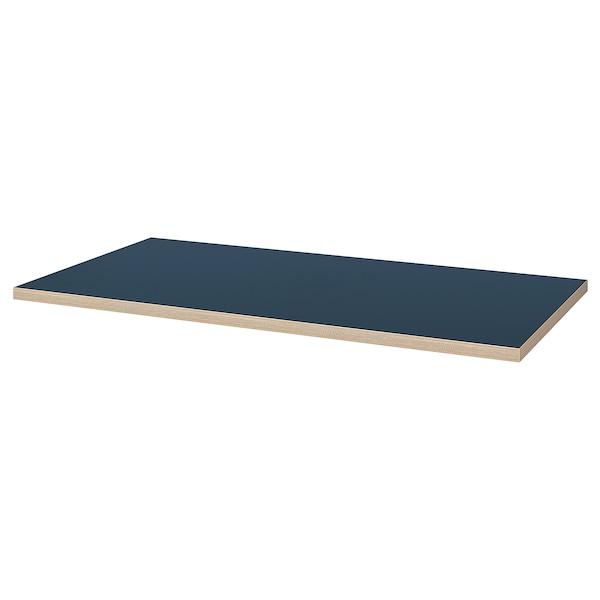 Linnmon Plateau De Table Bleu Bleu Noir Ikea