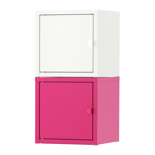 lixhult meuble de rangement blanc rose ikea. Black Bedroom Furniture Sets. Home Design Ideas