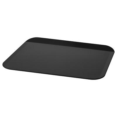 """LOCKBETE Plaque à four, noir, 14x16 """""""