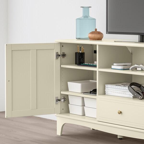 Lommarp meuble t l beige clair ikea Ikea meuble tele