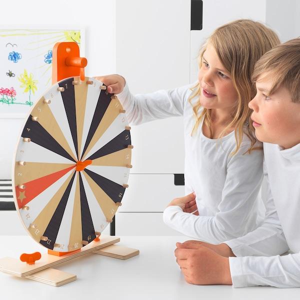 IKEA LUSTIGT Jeu roue de la fortune