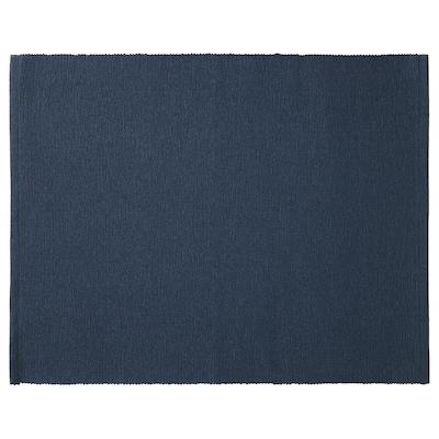"""MÄRIT Napperon, bleu foncé, 13 ¾x17 ¾ """""""