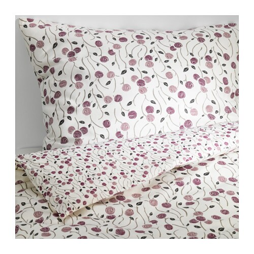 majviva housse de couette et taie s une place ikea. Black Bedroom Furniture Sets. Home Design Ideas