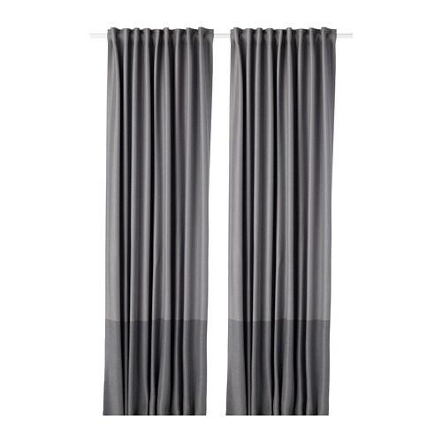 Marjun Rideaux Opaques 2 Panneaux Ikea