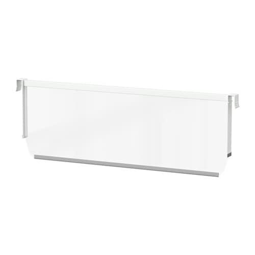 maximera s parateur pour tiroir haut blanc transparent blanc transparent 24 ikea. Black Bedroom Furniture Sets. Home Design Ideas